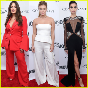 Ashley Graham, Nina Agdal & Sara Sampaio Get Chic For Glamour's Women of the Year Awards 2017