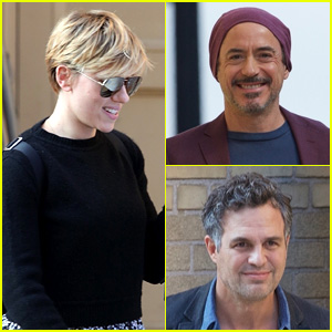 'Avengers' Cast Assemble for 'Our Town' Benefit Rehearsal