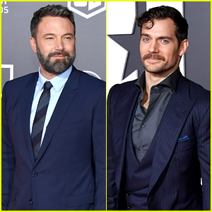 Ben Affleck & Henry Cavill Bring Batman & Superman to 'Justice League' World Premiere