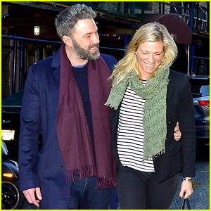 Ben Affleck & Girlfriend Lindsay Shookus Look Smitten in NYC