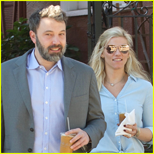 Ben Affleck & Lindsay Shookus Step Out for Coffee Date