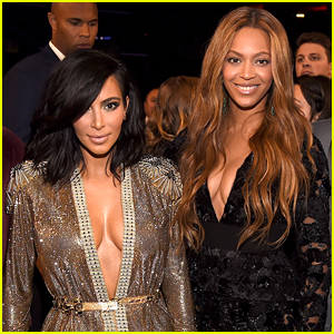 Beyonce & Kim Kardashian Met Up at Serena Williams' Wedding for First Time Since Family Fallout
