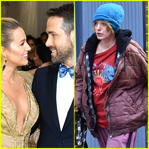 Ryan Reynolds Comments on Blake Lively's Unrecognizable Look for New Movie