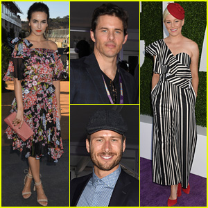Camilla Belle, James Marsden, Glen Powell & More Enjoy the Breeders Cup 2017