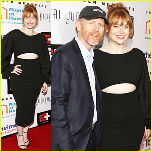 Bryce Dallas Howard & Father Ron Team Up at 'Broken Memories' Benefit Screening!