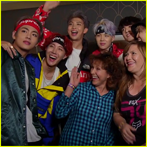 BTS Fans & Their Moms Get a Hilarious Surprise From Jimmy Kimmel - Watch!