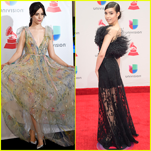 Camila Cabello & Sofia Carson Have Real-Life Princess Moments at Latin Grammy Awards 2017