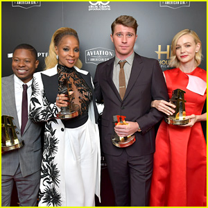 Carey Mulligan & 'Mudbound' Accept Ensemble Prize at Hollywood Film Awards 2017
