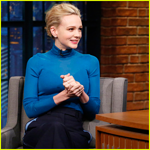 Carey Mulligan Reveals Why She Doesn't Tell People She's an Actress on 'Late Night'!