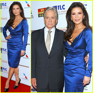 Catherine Zeta-Jones Gets Family Support at Legacy of Vision Gala
