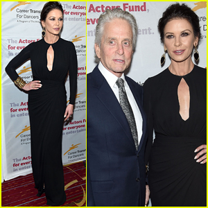 Catherine Zeta-Jones & Michael Douglas Couple Up for Dancers Jubilee Gala in NYC