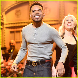 Chance the Rapper Sings a Thanksgiving Song for His 'SNL' Monologue (Video)