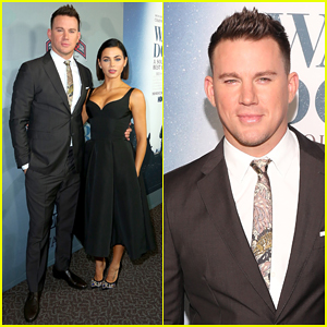 Channing Tatum Premieres Documentary 'War Dog: A Soldier's Best Friend' with Wife Jenna Dewan!