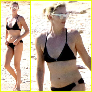 Charlize Theron Hits the Beach in Cabo on Thanksgiving Day!