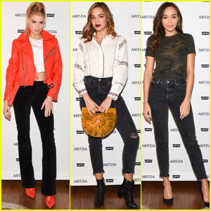 Charlotte McKinney, Ashley Madekwe & Georgie Flores Celebrate Aritzia x Levi's Launch!