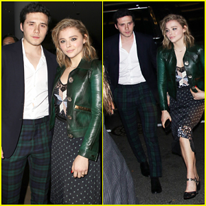 Chloe Moretz & Brooklyn Beckham Coordinate for FN Achievement Awards!