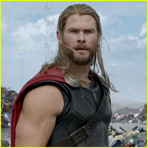 Chris Hemsworth Passes the 'Thor' Torch to His Mini-Me Son!