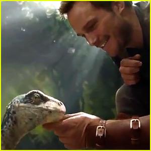 Is That Baby Blue? Watch Chris Pratt in 'Jurassic World: Fallen Kingdom' First Look!