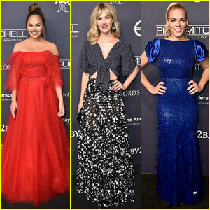 Chrissy Teigen, January Jones & Busy Philipps Go Glam for Baby2Baby Gala!