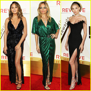 Chrissy Teigen & Nicole Richie Get Big Honors at REVOLVE Awards 2017!