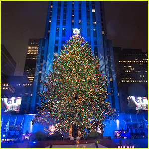 Christmas Tree In New York Rockefeller Center 2017