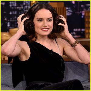 Daisy Ridley Battles Jimmy Fallon in 'Star Wars' Themed Whisper Challenge!
