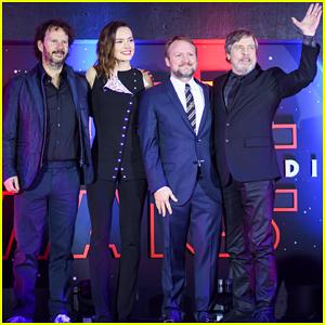 Daisy Ridley & Mark Hamill Kick Off 'Star Wars: The Last Jedi' Press Tour in Mexico City!
