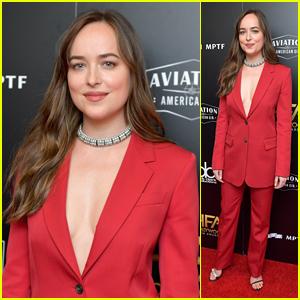 Dakota Johnson Looks Chic at Hollywood Film Awards 2017!