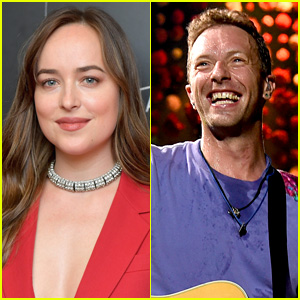Dakota Johnson Watches Chris Martin's Coldplay Concert in Buenos Aires