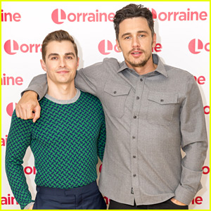 Dave Franco Wears Tight-Fitted Sweater for London TV Appearance with Brother James!