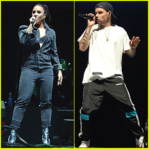 Demi Lovato & Liam Payne Take The Stage at Free Radio Live
