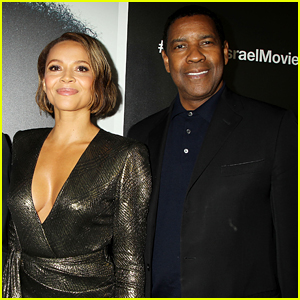 Denzel Washington & Carmen Ejogo Attend 'Roman J. Israel' Screening in NYC