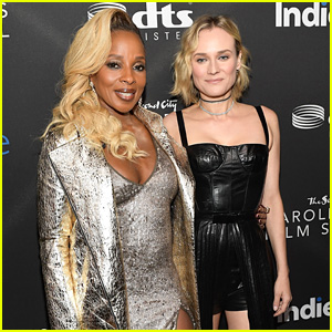 Diane Kruger & Mary J. Blige Accept Acting Honors at IndieWire Event