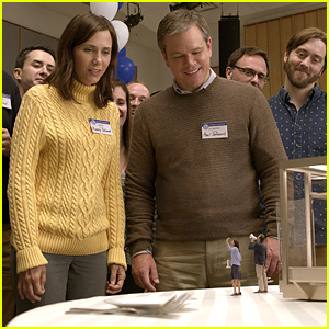 Matt Damon Goes on Adventure in 'Downsizing' Trailer - Watch Now!