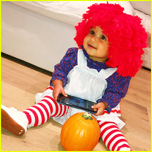 Dream Kardashian Had Multiple Halloween Costumes & Looked So Adorable In Them!