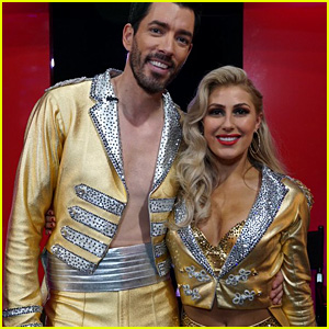 Drew Scott Swings Emma Slater Through the Air for 'DWTS' Semi-Finals Dance (Video)