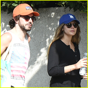 Elizabeth Olsen Spends the Afternoon with Boyfriend Robbie Arnett at the Farmers Market