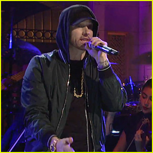 Eminem Sings a Medley of His Hit Songs for 'SNL' 2017 Performance (Video)
