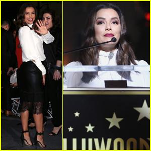 Eva Longoria Honors Selena Quintanilla at Hollywood Walk of Fame Ceremony