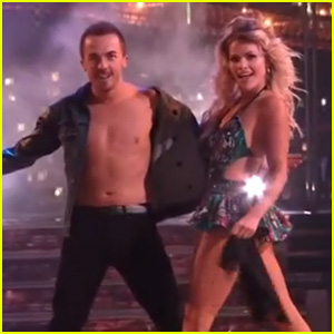 Frankie Muniz Bares Some Skin for 'DWTS' Semi-Finals (Video)
