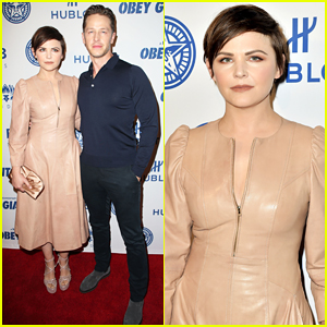 Ginnifer Goodwin & Josh Dallas Couple Up for 'Obey Giant' Documentary Premiere!