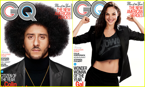 Colin Kaepernick & Gal Gadot Honored By 'GQ'!