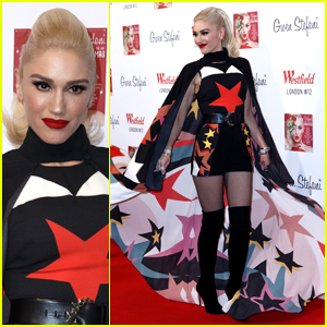Gwen Stefani Gets in the Holiday Spirit in London