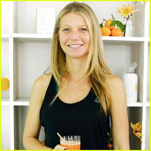 Gwyneth Paltrow Goes Makeup