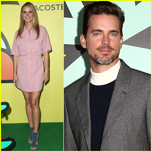Gwyneth Paltrow Joins Matt Bomer at Lacoste Event in LA
