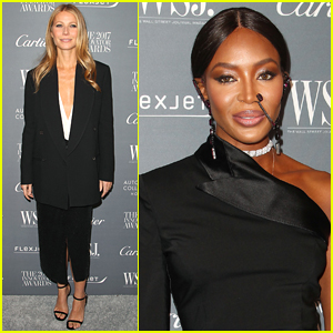 Gwyneth Paltrow & Naomi Campbell Arrive in Style for WSJ Innovators Awards