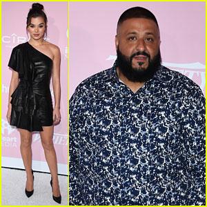 Hailee Steinfeld & DJ Khaled Dress Up For Variety Hitmaker Awards 2017