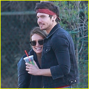 Hilary Duff Cozies Up to Boyfriend Matthew Koma at the Dog Park!