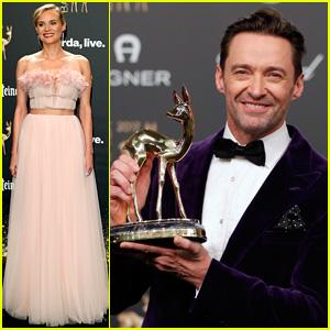 Hugh Jackman & Diane Kruger Win Big at Bambi Awards 2017