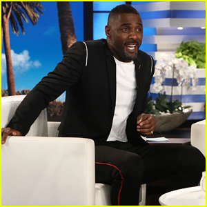 Idris Elba Recalls Early 'Tough Times' As an Actor on 'Ellen'